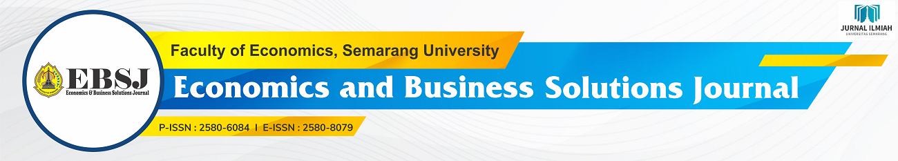 Economics and Business Solutions Journal